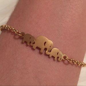 Jewelry - 💕2 for $25💕Elephant Bracelet